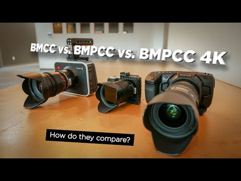 BMPCC 4K vs. BMPCC vs. BMCC