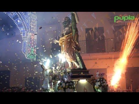 Gricignano (CE) - Festa Sant'Andrea 2017, il rientro in chiesa della statua (28.08.17)