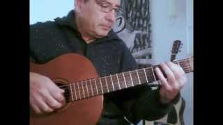 Easy Malaguena - Guitar Tutorial