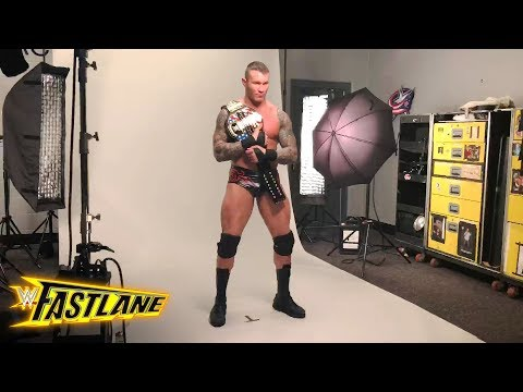 Go  of Randy Orton's photo shoot as new U.S. Champion: Exclusive, March 11, 2018