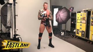 Go behind the scenes of Randy Orton's photo shoot as new U.S. Champion: Exclusive, March 11, 2018