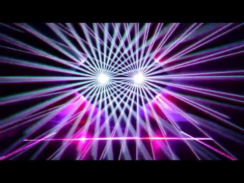 Pink Floyd - Welcome to the Machine (Trippy Laser Light Effect)