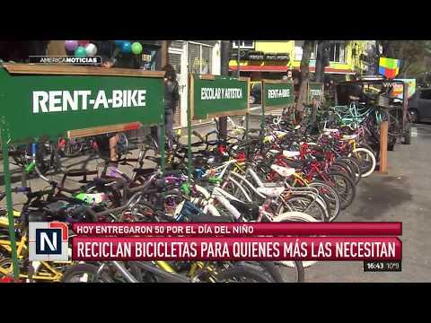 Reciclan bicicletas para quienes más lo necesitan