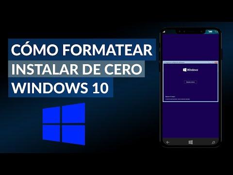 Cómo Formatear una PC e Instalar Windows 10 Desde cero - Paso a paso