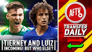 Deadline Day Madness! Tierney & Luiz Incoming But Who Else? | AFTV Transfer Daily
