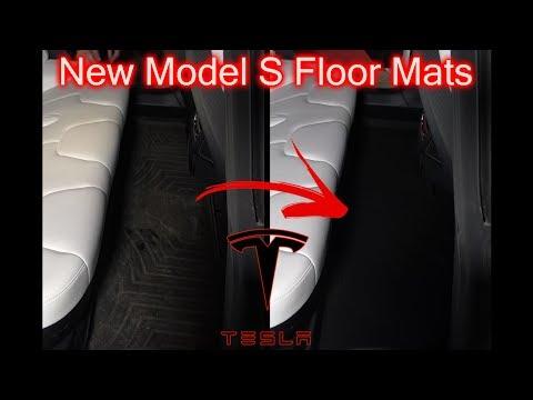 New Tesla Model S Floormats!