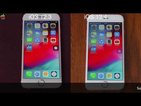 IOS 12.3 Vs IOS 12.4 Speed Test On IPhone 6s | ISuperTech