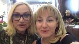 Мы с МАРИНОЙ МИХИНОЙ. День второй. MICHAL NEGRIN в Москве. Похудение мамы и дочки.