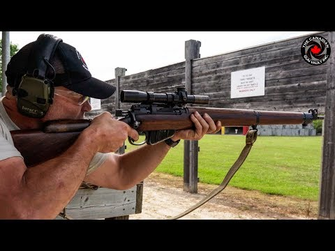 The Lee Enfield Model T Sniper Rifle | Made In Canada