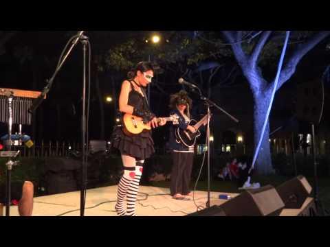 Taimane Gardner - Samadhi Aerial Dance @ HISAM - Sony Hx9v Night Test