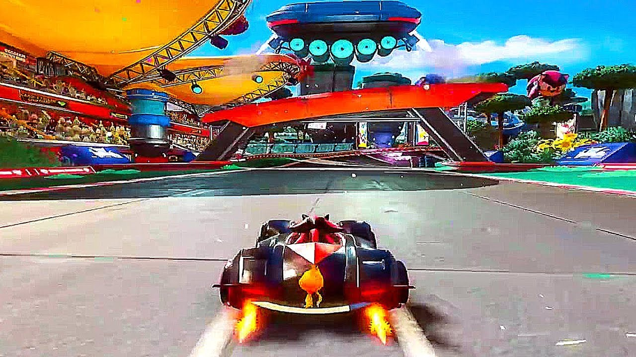 TEAM SONIC RACING - E3 2018 Gameplay Demo