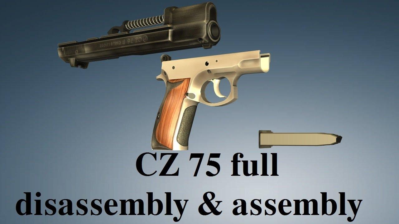 CZ 75: full disassembly & assembly