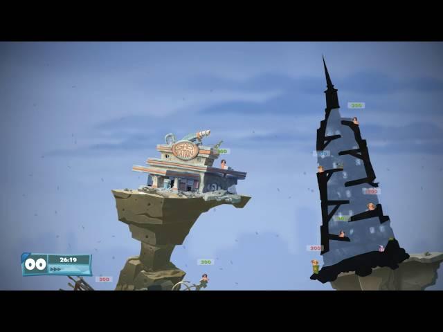 Worms W.M.D (видео)