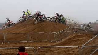 Skegness beach racing 2013 first race.