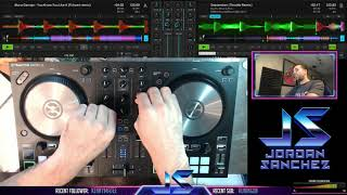 Live DJ set on Twitch with the NI Traktor Kontrol S2 MK3