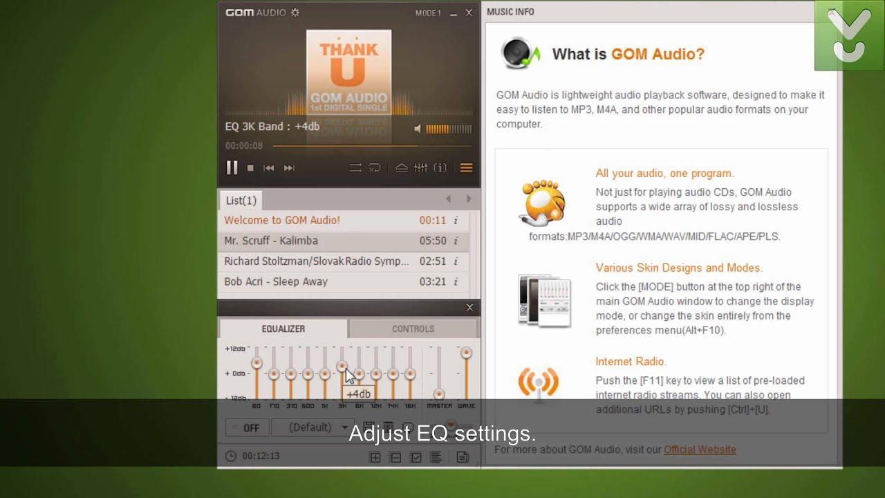 GOM Audio 2.3.56 Crack With Product Key Full Free 2020