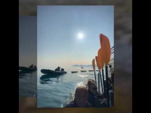 Kayaking in the Arctic with Hurtigruten