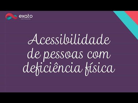 Enem: Acessibilidade de pessoas com deficiência física – Atualidades Enem e Vestibulares (ProUni)