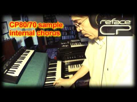 YAMAHA REFACE CP & real things