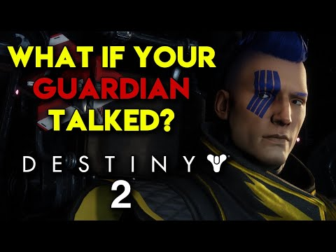 What If Your Guardian Talked In Destiny 2? - The (Un)Silent Protagonist - TheHiveLeader