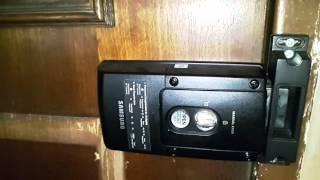 Samsung ezon digital door lock