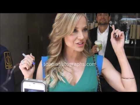 Julie Benz  Signing Autographs at