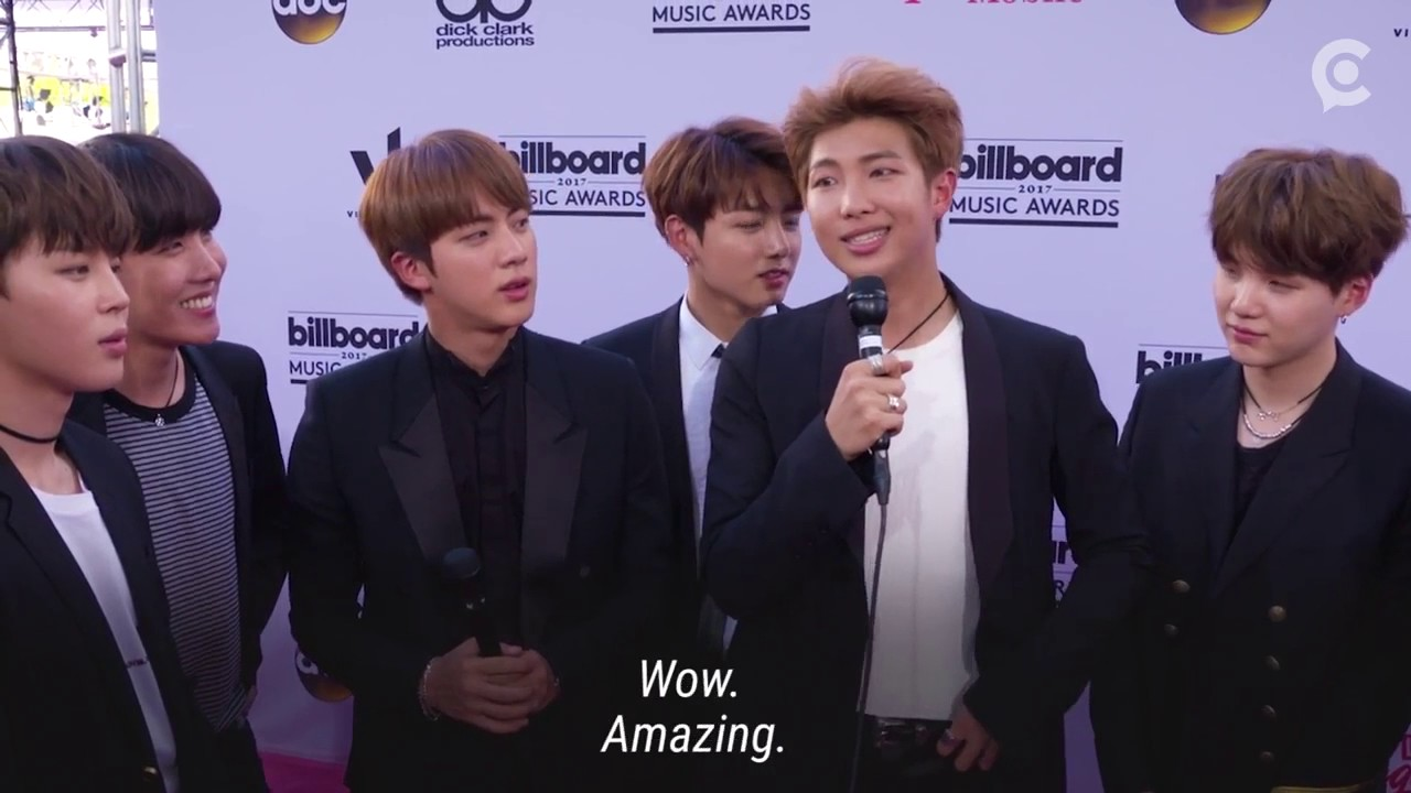 We Were Bts With Bts At The Billboard Music Awards