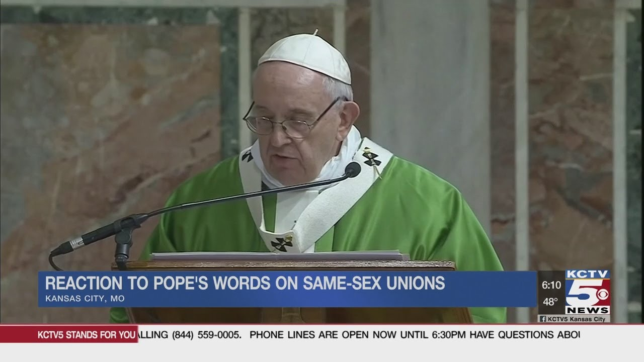 Pope Francis shows support for LGBTQ community