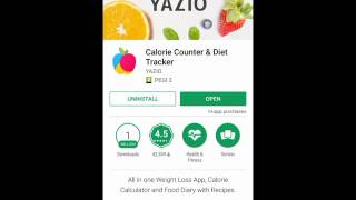 Calorie Counter & Diet Tracker for Android - A Complete Video Review