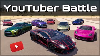 The Ultimate YouTuber Dragrace | Forza Horizon 3 | ft. KSI, Salomondrin, Tanner Fox & more!!