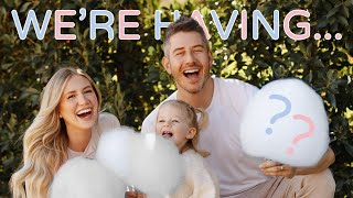 TWINS GENDER REVEAL! | LAUREN & ARIE