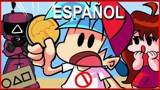 FNF EN SQUID GAME  ANIMACIÓN EN ESPAÑOL