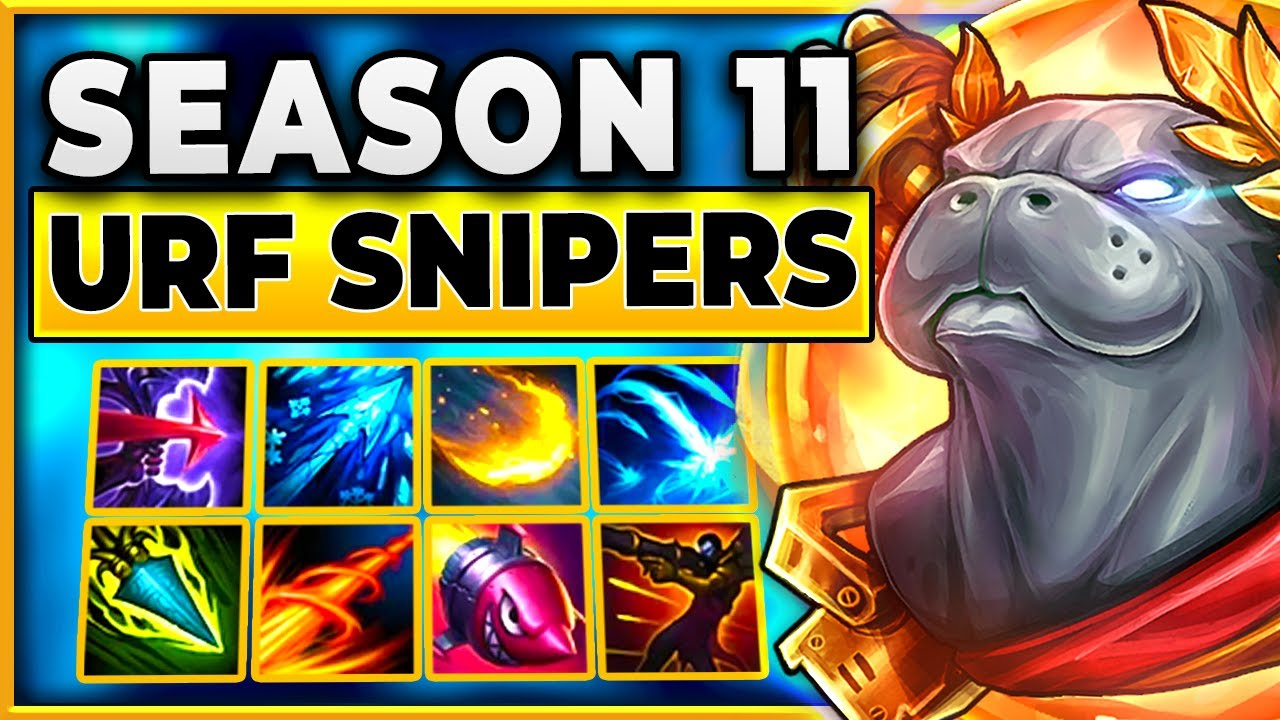 Download This Video Took Me A Month To Make (Season 11 URF Snipers)