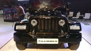DC Hammer - Modified Thar Costs 9 Lakh over the donor vehicle - Auto Expo 2018 #ShotOnOnePlus