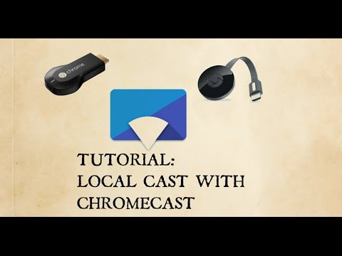 How to use Local Cast with Chromecast | Google Streaming
