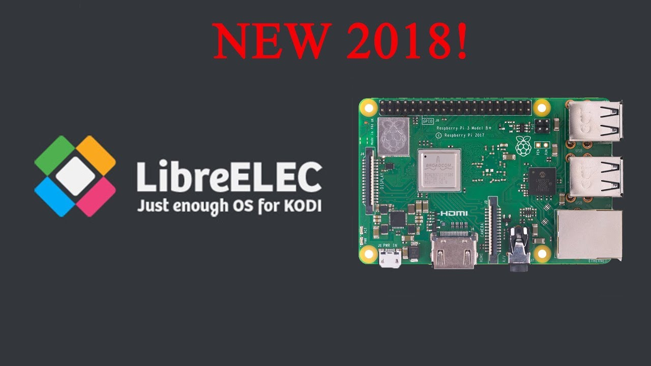 install libreelec on raspberry pi 3 b+