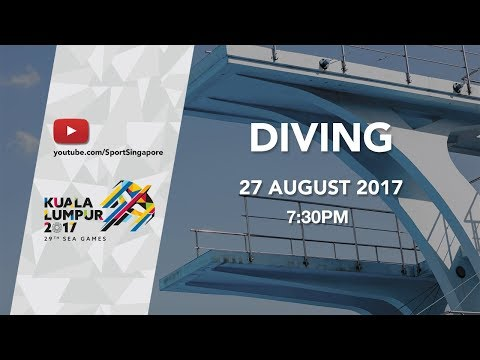 Men's Diving 10m platform final | 29th SEA Games 2017
