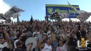 """La Barra del Olimpia siempre presente""  Olimpia vs Gral. Diaz / Fecha 5 / Apertura 2016"