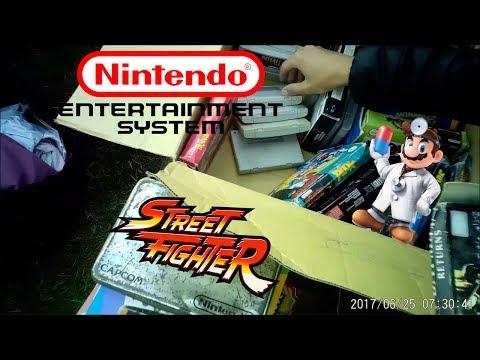 LIVE Car Boot Hunt Episode 2. NES Games, Street Fighter, Exclusive DVD