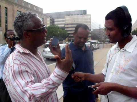 Henock Semaegzer of VOA interviews Tamagn Beyene.AVI