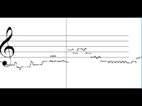 Kudsi Erguner - Taksim improvisation on Makam Ussak - melodic curve