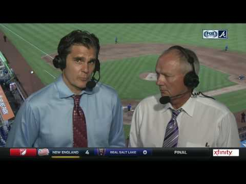 Chip Caray and Joe Simpson wrap up another Braves win in Miami