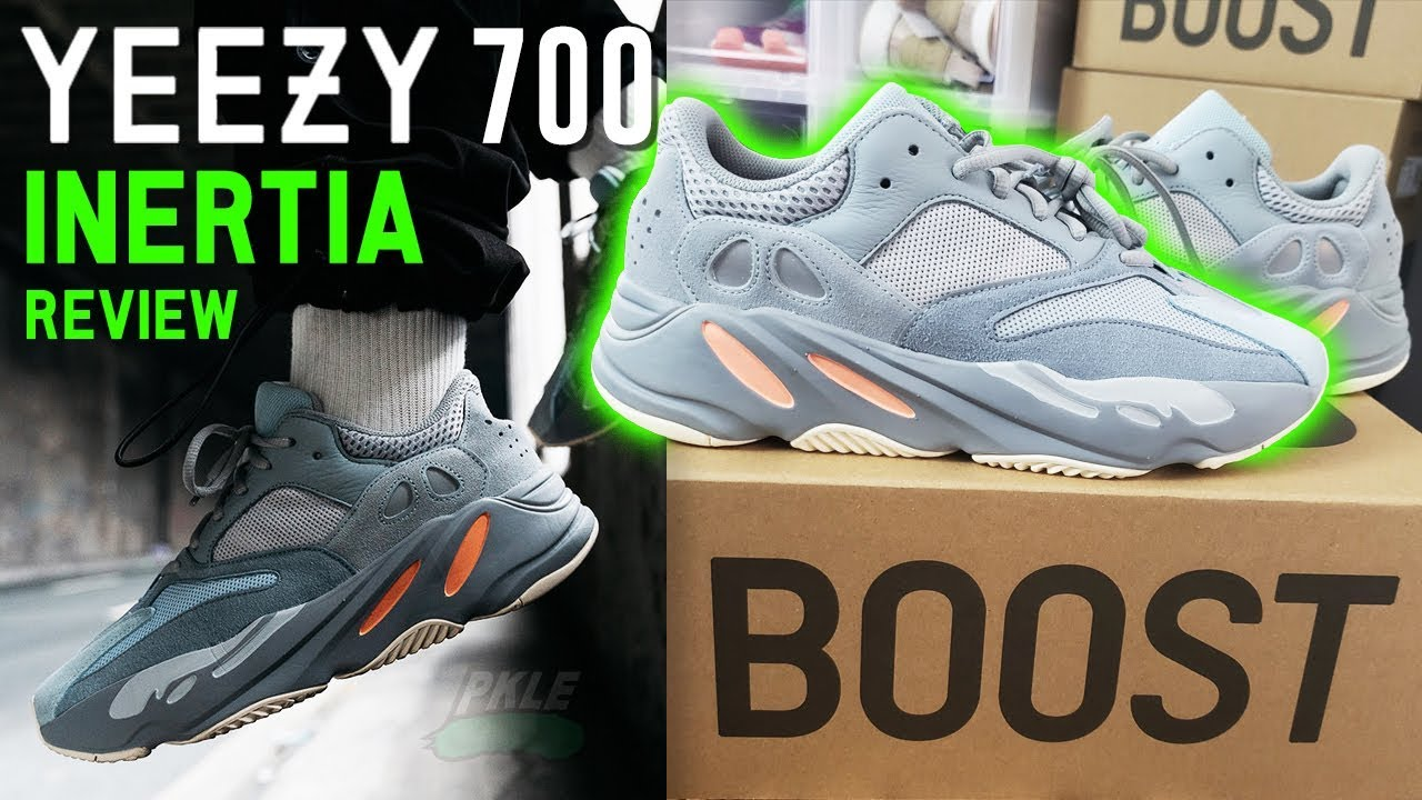 3509a9104 Adidas Yeezy Boost 700 Inertia Review & On Feet !! - YouTube