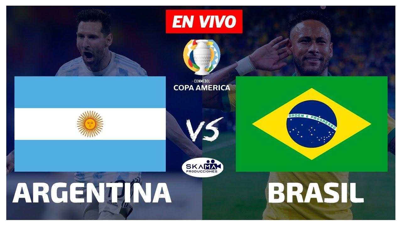 ARGENTINA vs BRASIL EN VIVO ? COPA AMÉRICA 2021 FINAL NARRACIÓN EMOCIONANTE