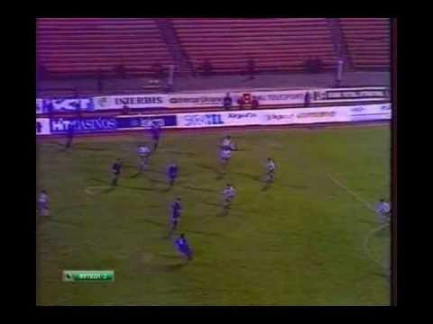 1994 (October 12) Ukraine 0-Slovenia 0 (EC Qualifier) (Re-upload).avi