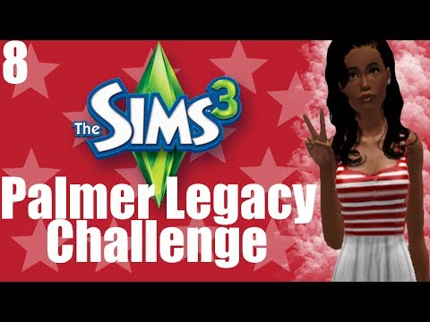 The Sims 3: Palmer Legacy Challenge - Part 8   Lucky Treasure
