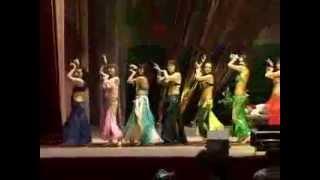 Школа восточных танцев Арабика и Зарина, г. Луганск.flv
