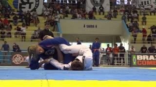 Luiza Monteiro x Andressa Correa - Campeonato Brasileiro de Jiu-Jitsu 2015 CBJJ