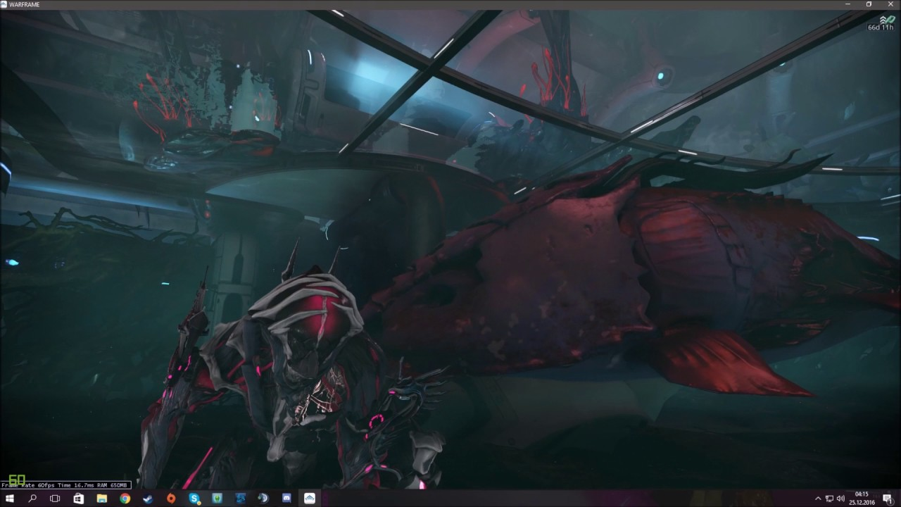 Warframe cute fish in the infested room youtube for How to fish in warframe