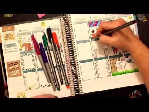Doodle PWM!! Erin Condren Life Planner